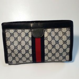 Gucci Vintage Cosmetic Bag Clutch